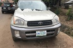 Nigeria Used Toyota RAV4 2002 Model Gold