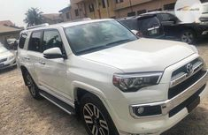 Foreign Used Toyota 4-Runner 2014 Model White