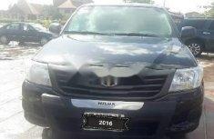 Tokunbo Toyota Hilux 2014 Model Black