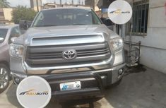 Very Clean Foreign used Toyota Tundra 2015 Gray