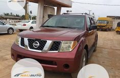 Foreign Used Nissan Pathfinder 2005 Model Red