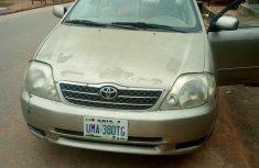 Nigeria Used Toyota Corolla 2002  Model Silver