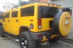 Hummer H2 2007 Yellow
