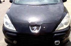 Nigeria Used Peugeot 307 2007 Model Black