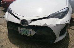Very Clean Nigerian used Toyota Corolla 2018