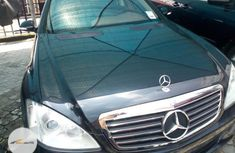 Tokunbo Mercedes-Benz S Class 2008 Model Black