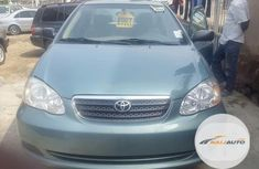 Neat Foreign used Toyota Corolla 2002 Green