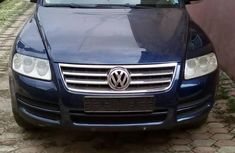 Foreign Used Volkswagen Touareg 2006 Model Blue
