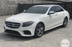 Clean Foreign used Mercedes-Benz E300 2017 White