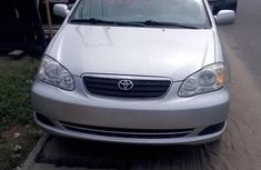 Neat Foreign used Toyota Corolla 2007 Silver