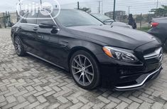 Mercedes-Benz C63 2016 Black