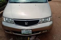 Nigeria Used Honda Odyssey 2000 Model Gold