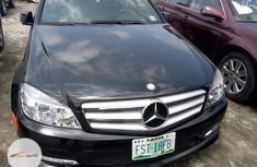 Nigeria Used Mercedes-Benz C300 2012 Model Black