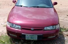 Nigerian Used Clean Mazda 626 1998 Red