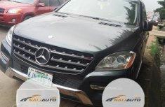 Nigeria Used Mercedes-Benz M Class 2012 Model Gray