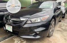 Clean Nigerian used Honda Accord 2009 Black