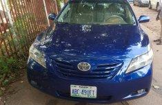 Nigeria Used Toyota Camry 2.4 LE 2008 Model  Blue