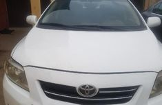 Nigeria Used Toyota Corolla 2009 Model White