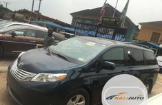 Super Clean Foreign used Toyota Sienna 2011 7 Passenger Blue