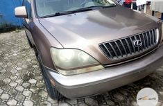 Super Clean Foreign used Lexus RX 2000 Gold
