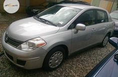 Super Clean Foreign used Nissan Versa 2007 Silver
