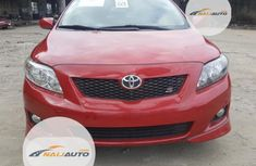 Foreign Toyota Corolla 2010 Model Red