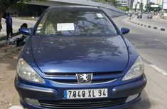 Tokunbo Peugeot 607 Automatic 2004 Model Blue