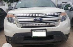 Nigeria Used Ford Explorer 2013 Model White