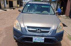 Clean Nigerian used Honda CR-V 2003