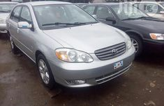 Foreign Used Toyota Corolla LE 2004 Silver