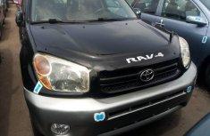 Foreign Used Toyota RAV4 2004 Model Black