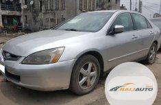 Nigeria Used Honda Accord Automatic 2005 Model Silver