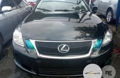 Foreign Used Lexus GS 350 Awd 2008 BLACK