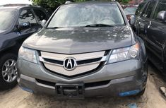 2008 Acura MDX Tokunbo Black Jeep in Lagos