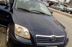 Nigeria Used Toyota Avensis 2005 Model Blue