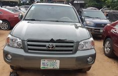Well Maintained Nigerian used Toyota Highlander 2007