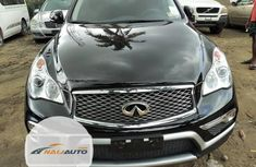 Foreign Used Infiniti QX 2016 Model Black
