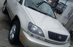 Nigeria Used Lexus RX 2000 Model White