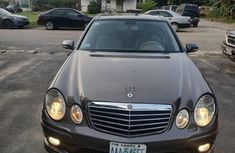 Well Maintained Nigerian used  Mercedes-Benz E350 2009