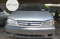 Foreign Used Toyota Sienna 2003 Model Silver