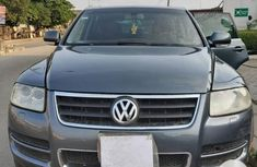 Foreign Used Volkswagen Touareg 2004 Model Gray