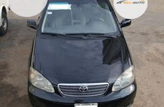 Foreign Used Toyota Corolla CE 2006 Model Black
