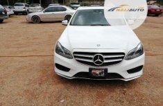 Tokunbo Mercedes-Benz E350 2014 Model White