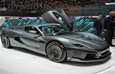 """The next Tesla? """"Croatian Elon Musk"""" reveals 256mph electric hypercar with 2000hp to race the big boys"""