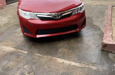 Clean Foreign used Toyota Camry 2012 Red