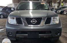 Foreign Used Nissan Pathfinder 2005 Model Gray