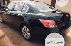 Clean Foreign used Honda Accord 2010 Black