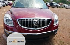Tokunbo Buick Enclave CXL AWD 2009 Model Red