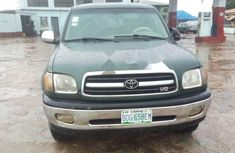 Clean Nigerian used Toyota Tundra 2002