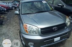 Foreign Used Toyota Rav4 2005 Gray